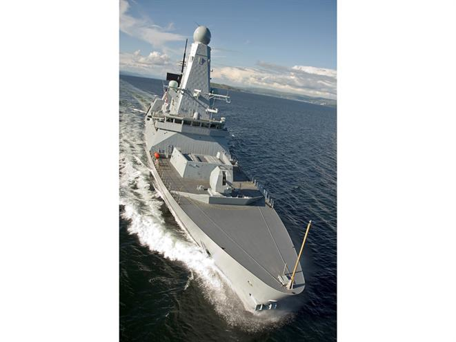 HMS Daring Courtesy BAE Systems