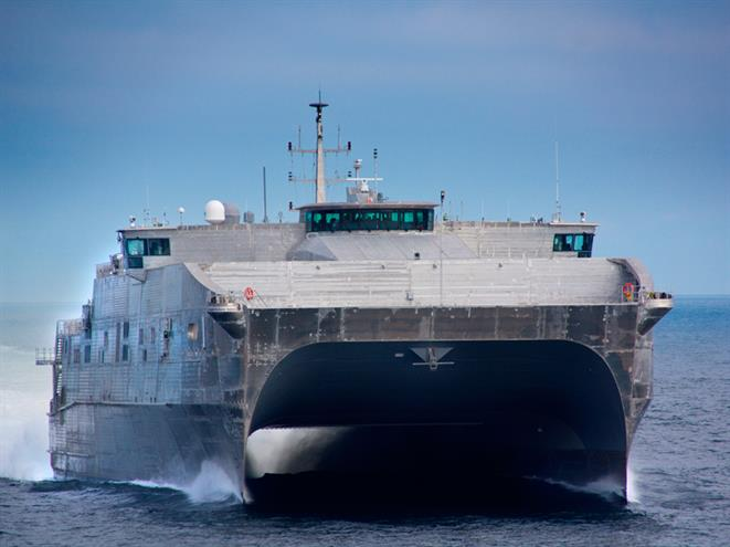 USNS Spearhead Courtesy of Austal
