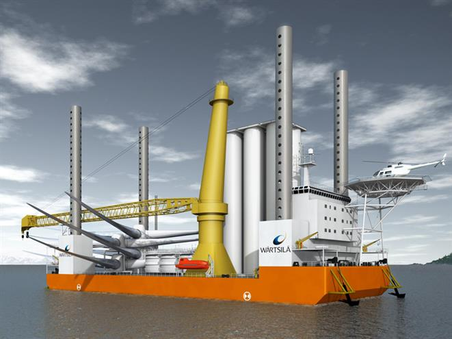 Jack-up Crane Vessel