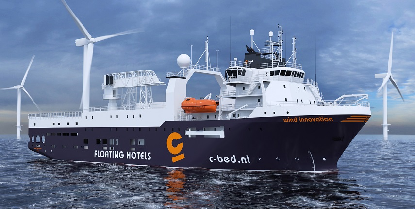 Wind Innovation - offshore vessel conversion