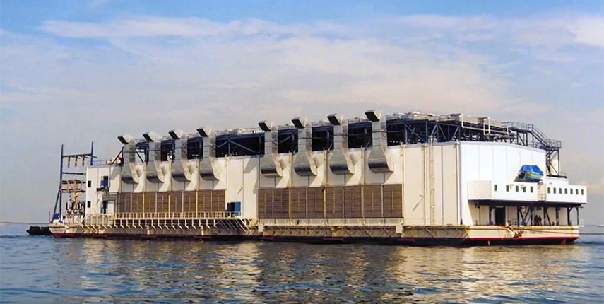 Haripur floating power plant - Bangladesh
