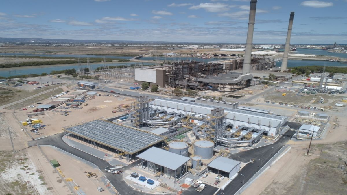 AGL Energy Limited, Australia Barker Inlet Power Station