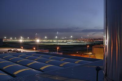 Barajas airport, Madrid, Spain