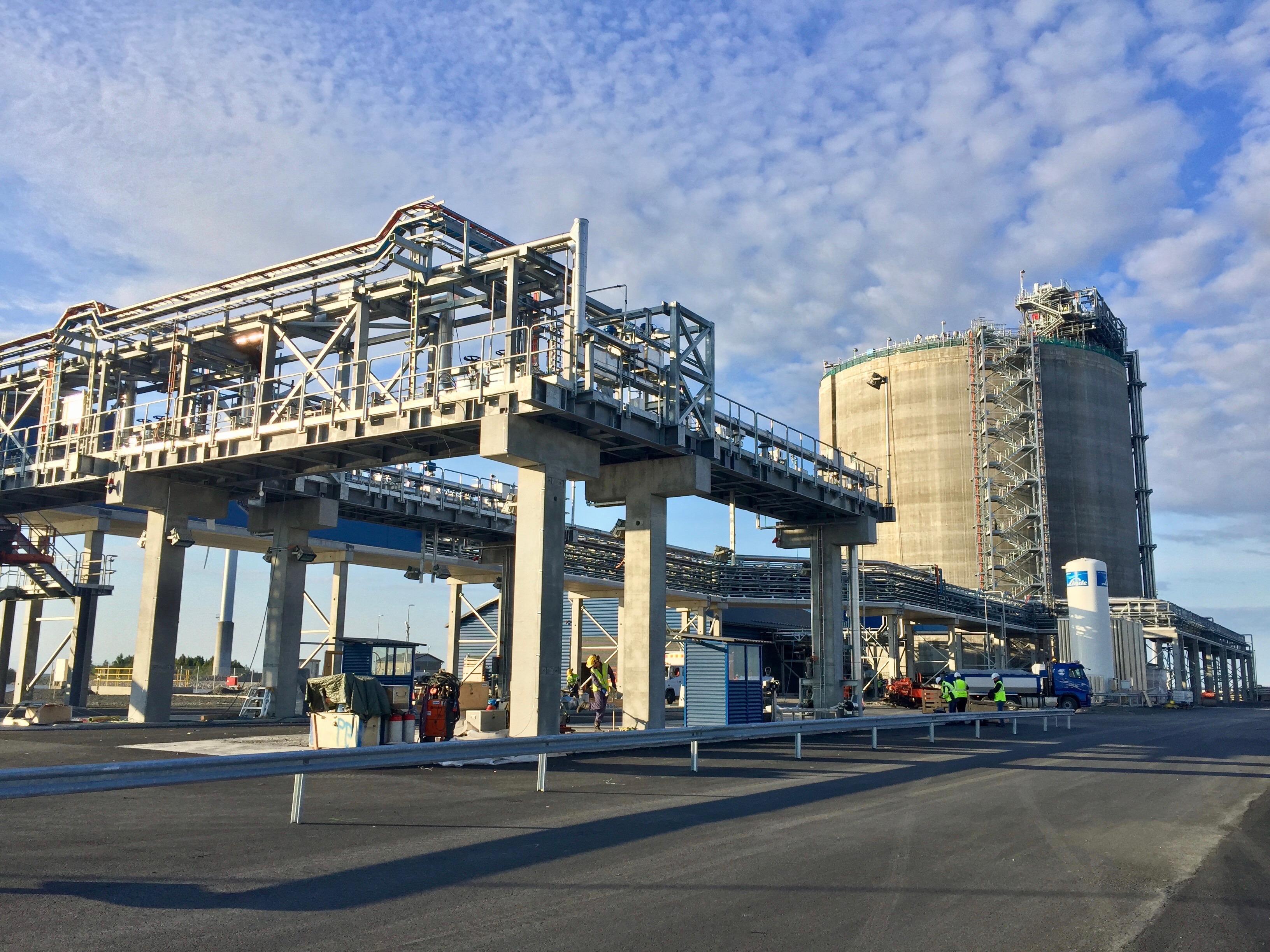 Tornio LNG terminal