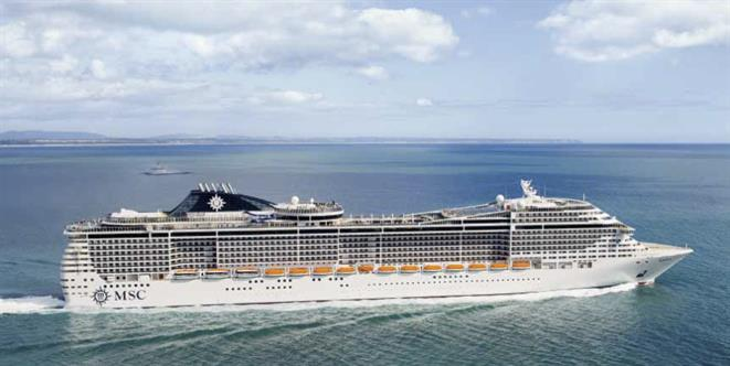 MSC Cruises reference case image