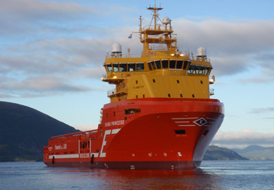 Wärtsilä's hybrid system increases offshore supply vessel's