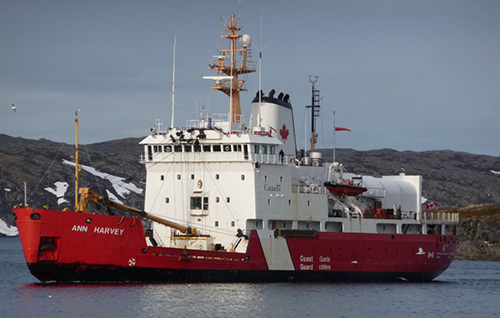 Ann Harvey Canadian Coast Guard