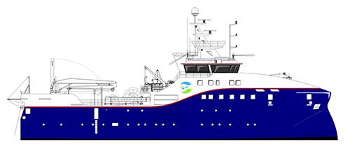 Faroe research vessel