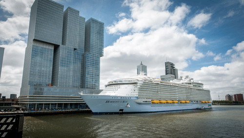 Wärtsilä Powers The Worlds Largest Cruise Ship Harmony Of The Seas - Largest cruise ship engines