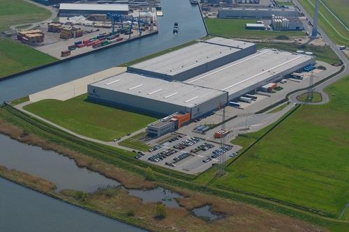 Central distribution centre of Wärtsilä Global Logistics Services in Kampen, the Netherlands