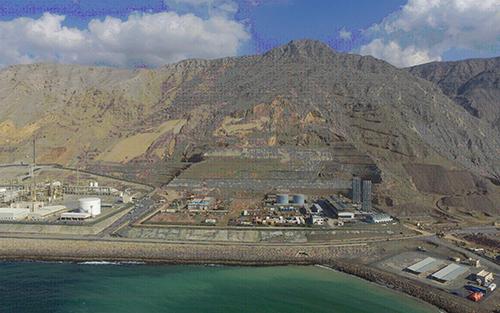 Musandam power plant