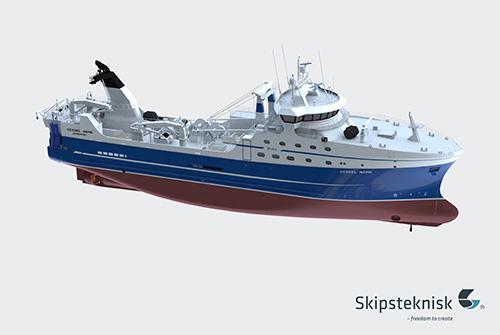 Nord Pilgrim trawler new