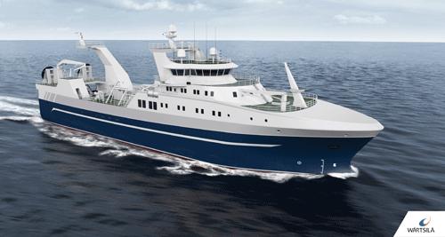 Wärtsilä's new stern trawler design offers greater fuel efficiency