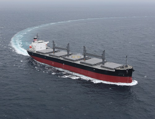 Wärtsilä scrubber systems to clean the exhaust from two new Japanese bulk carriers_image courtesy of NYK BP
