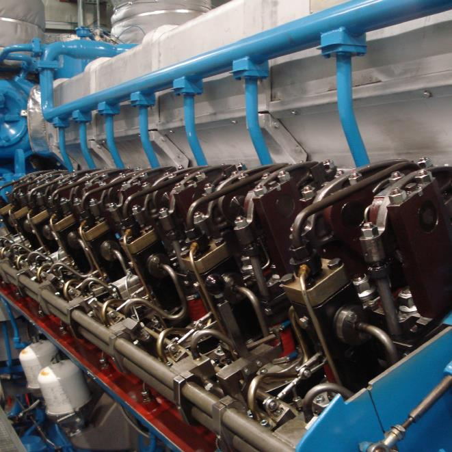 Wärtsilä Nohab 25 Fuel Pipe Upgrade