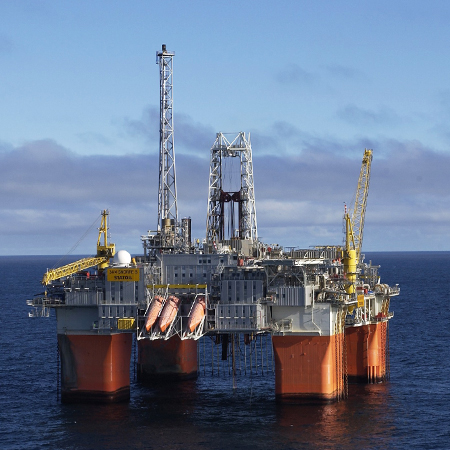 Offshore platform, guaranteed asset performance