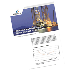 Business white paper: Shared incentives create OPEX savings in oil & gas