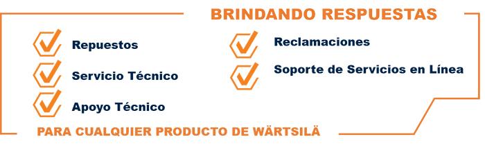 Centro de apoyo al cliente de Wärtsilä