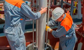 DW cargo pump installation