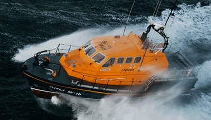 Search and rescue vessels require reliable sealing solutions