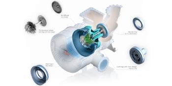 Wärtsilä 46 Turbocharger Performance optimisation image with captions