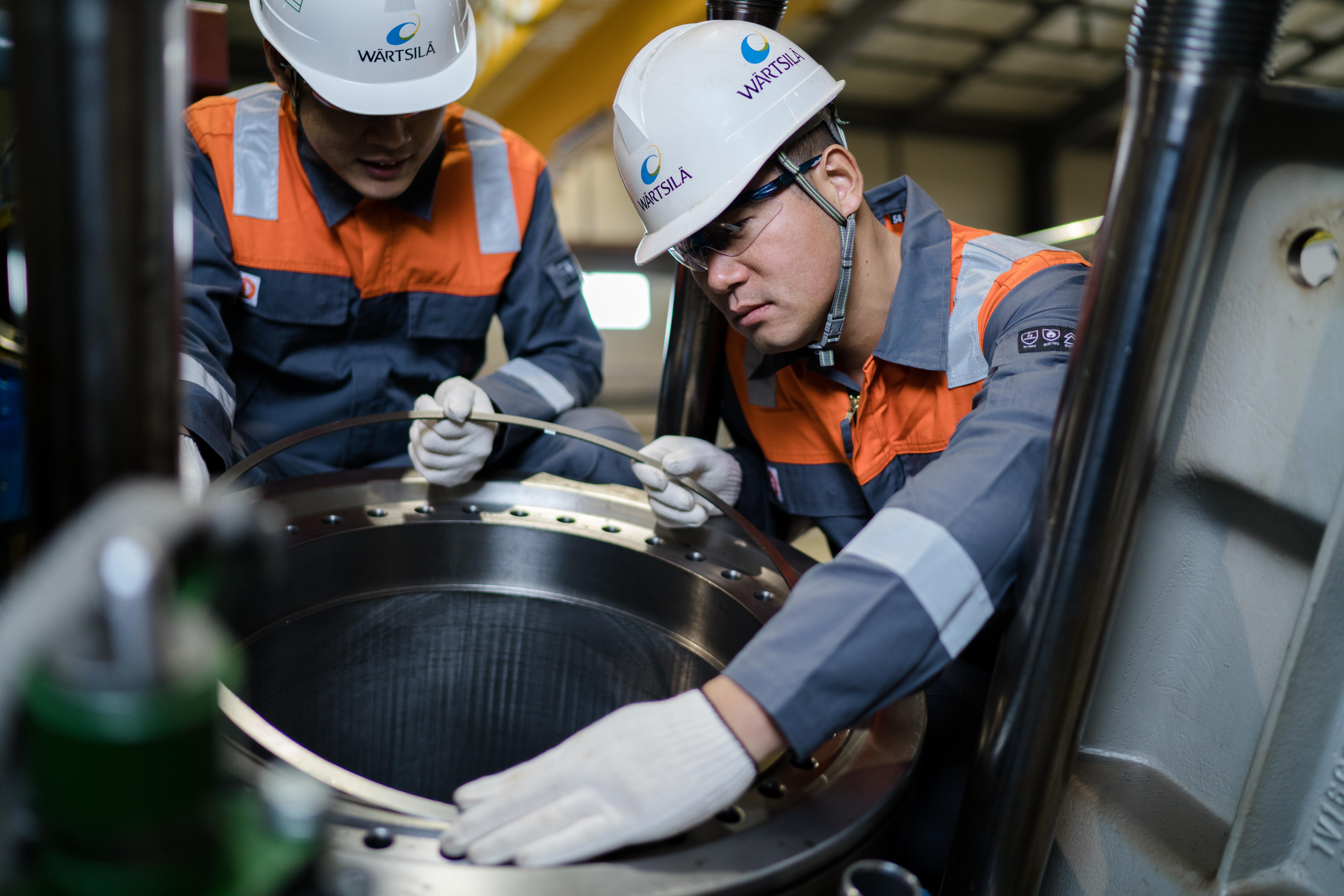 Workshop services to ensure optimum asset performance