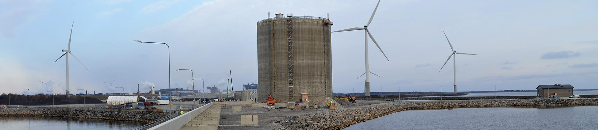 Tornio Manga LNG terminal