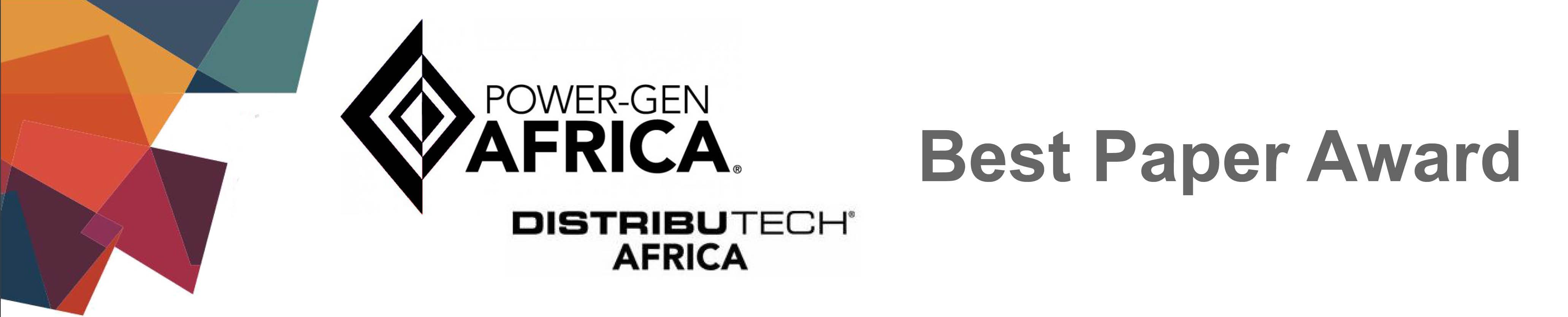 PowerGen Africa Best Paper 2016