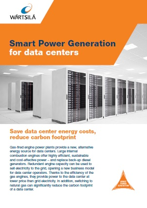 Smart power generation for Datacenters Leaflet