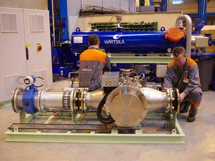 All of our Wärtsilä Aquarius BWMS are built, tested and commissioned in house