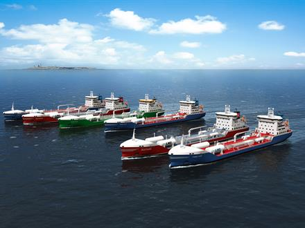 Modern LNG vessels equipped with Wärtsilä solutions