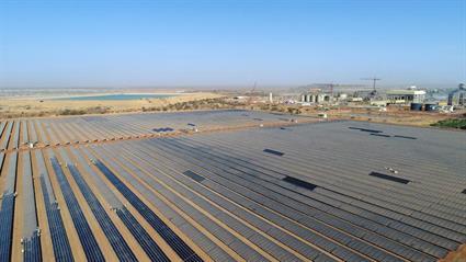 The new solar hybrid plant configuration maximises the utilisation of renewable energy at the Essakane mine.