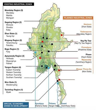 Energising Myanmar's industrial zones2