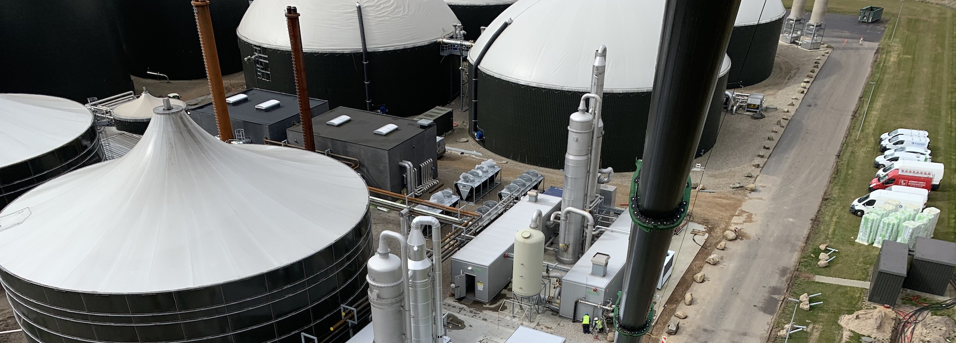 The Wärtsilä biogas polishing and liquefaction units at Tekniska Verken (Linköping, Sweden) are utilising food waste and turning the produced biogas into bioLNG.