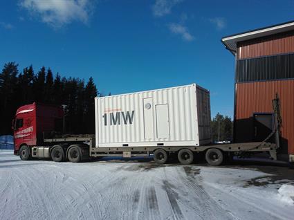 The Wärtsilä GasReformer leaves Finland en route to Bermeo, Spain.