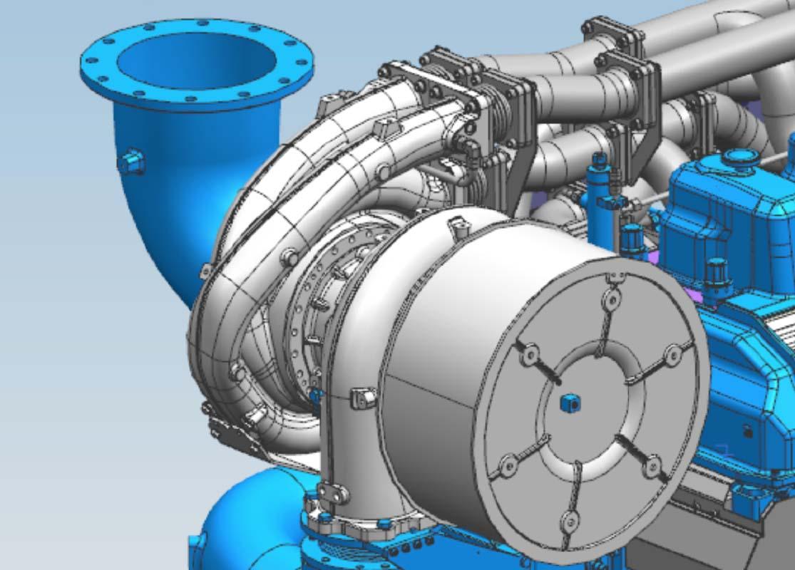 New KBB turbocharger version ST5 EP (8L20).