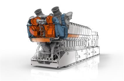 Wartsila 31SG the worlds most efficient 4stroke engine2