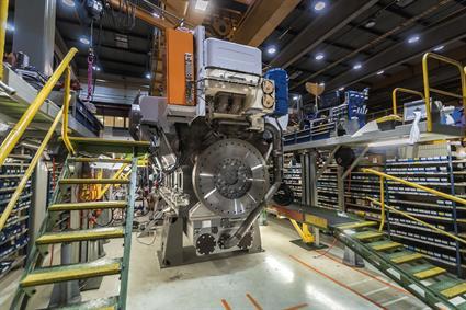 Wartsila 31SG the worlds most efficient 4stroke engine3