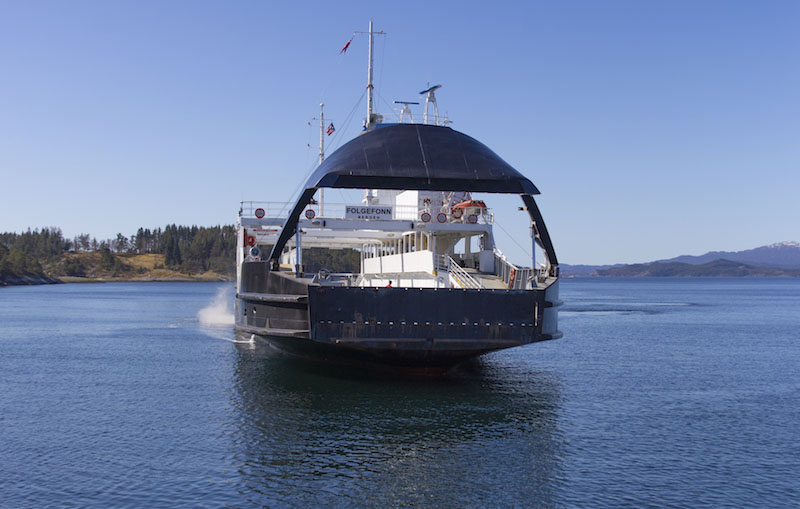 Auto-docking ferry successfully tested in Norway2