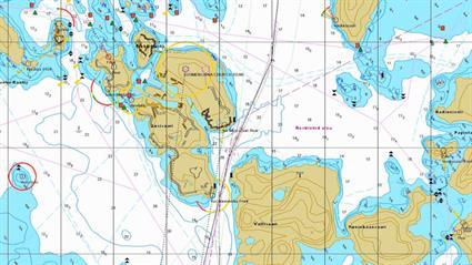 Title Kustaanmiekka strait The Gibraltar of the North2