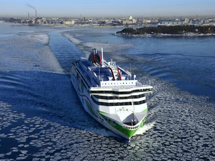 The ship was ordered by AS Tallink Grupp for its Helsinki – Tallinn route, which carries well over eight million passengers annually, and entered into service in January 2017.