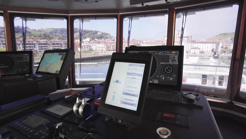 Propulsion Control on the Norwegian Gannet3