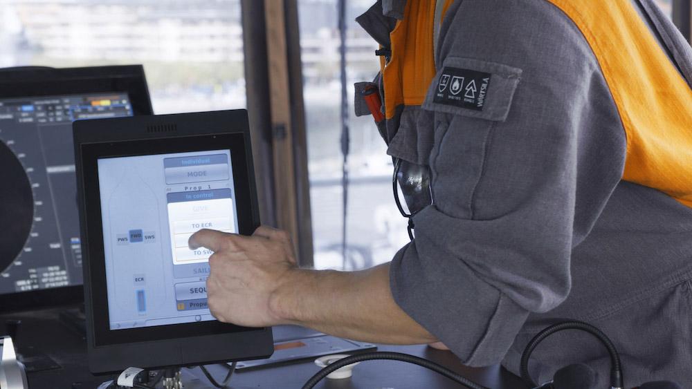 Propulsion Control on the Norwegian Gannet4