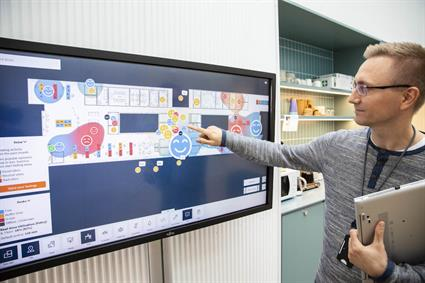 Wartsila's new smart office is unique and cutting-edge2