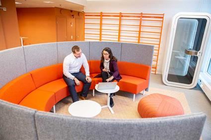 Wartsila's new smart office is unique and cutting-edge4