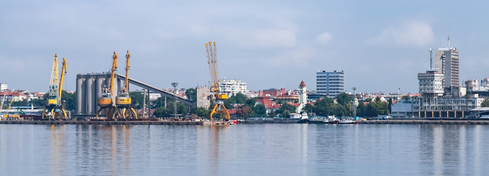 Port of Burgas,Bulgaria