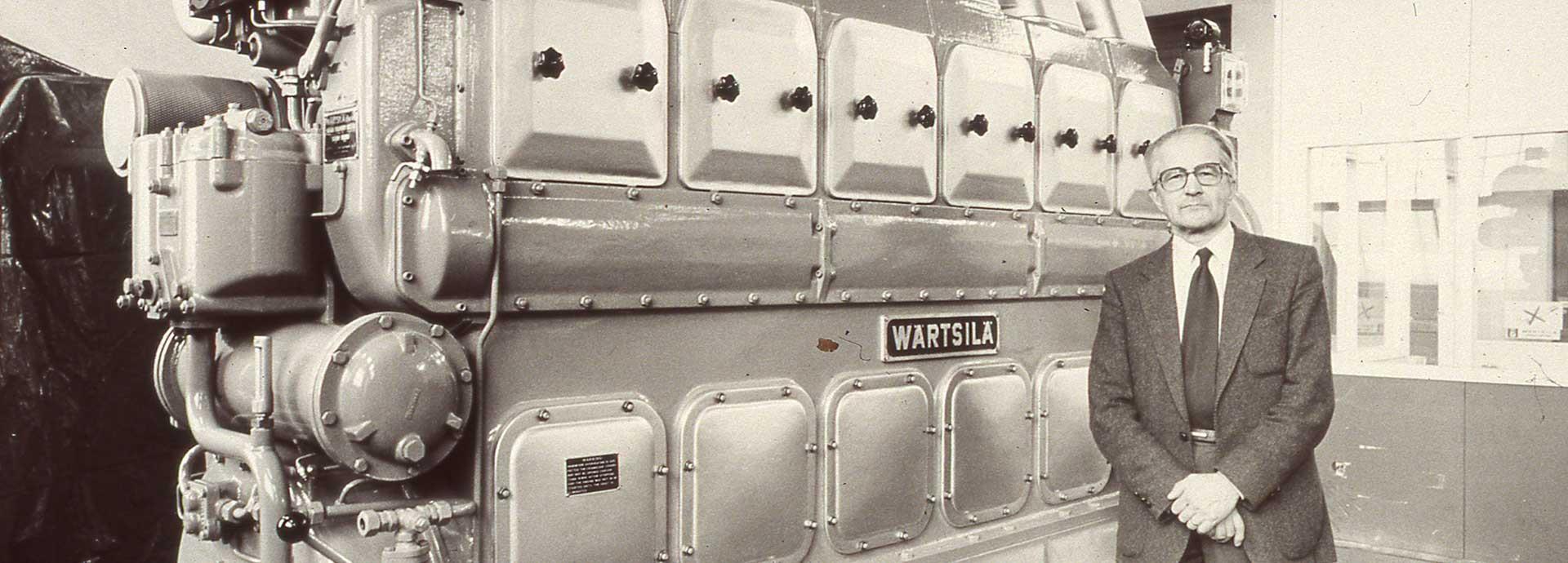 Wärtsilä 14 and Wilmer Wahlstedt