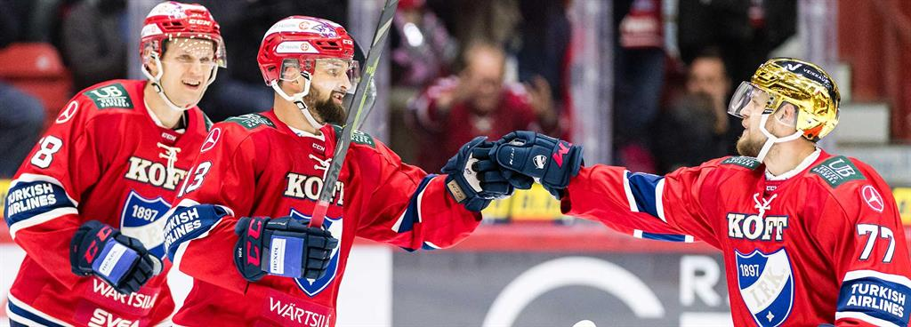Come as you are to HIFK's first line
