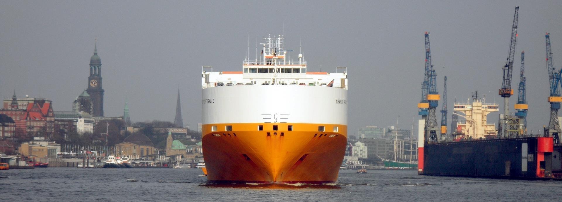 Grimaldi Ro-Ro ship the Grande Portogallo