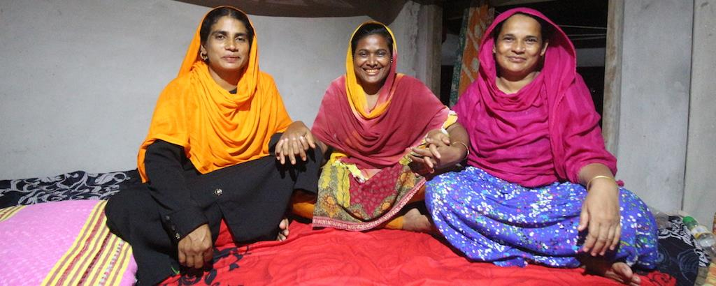 Women entrepreneurs in remote parts of Bangladesh